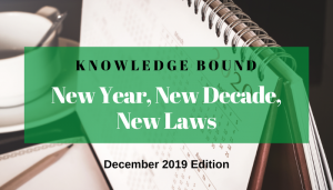 """<span class=""""entry-title-primary"""">Knowledge Bound</span> <span class=""""entry-subtitle"""">New Year, New Decade, New Laws</span>"""