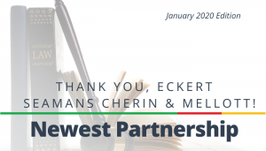 "<span class=""entry-title-primary"">Newest Partnership with IST</span> <span class=""entry-subtitle"">Thank You, Eckert Seamans Cherin & Mellott, LLC!</span>"