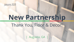 "<span class=""entry-title-primary"">Newest Partnership with IST</span> <span class=""entry-subtitle"">Thank You, Floor & Decor in Atlanta!</span>"