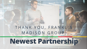 "<span class=""entry-title-primary"">Newest Partnership with IST</span> <span class=""entry-subtitle"">Thank you, Franklin Madison Group!</span>"