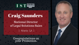 "<span class=""entry-title-primary"">Newest Promotion within IST</span> <span class=""entry-subtitle"">Congratulations, Craig Saunders, Promoted to National Director of Legal Solutions Sales!</span>"