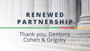 """<span class=""""entry-title-primary"""">Renewed Partnership with IST</span> <span class=""""entry-subtitle"""">Thank you, Dentons Cohen & Grigsby!</span>"""