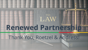"<span class=""entry-title-primary"">Renewed Partnership with IST</span> <span class=""entry-subtitle"">Thank you, Roetzel & Andress!</span>"