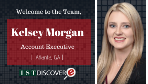 "<span class=""entry-title-primary"">New Employee with IST</span> <span class=""entry-subtitle"">Welcome Kelsey Morgan, Account Executive for eDiscovery!</span>"