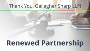 "<span class=""entry-title-primary"">Renewed Partnership with IST</span> <span class=""entry-subtitle"">Thank you, Gallagher Sharpe, LLP!</span>"
