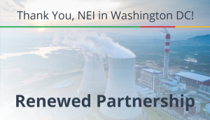 """<span class=""""entry-title-primary"""">Renewed Partnership with IST</span> <span class=""""entry-subtitle"""">Thank you Nuclear Energy Institute in Washington, DC!</span>"""