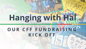 """<span class=""""entry-title-primary"""">Hanging with Hal</span> <span class=""""entry-subtitle"""">Our CF Fundraising Kick Off</span>"""