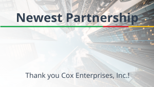 """<span class=""""entry-title-primary"""">Newest Partnership with IST</span> <span class=""""entry-subtitle"""">Thank you and Welcome Cox Enterprises, Inc. in Atlanta, GA!</span>"""