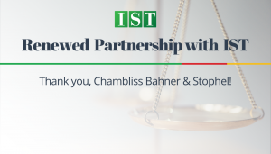 """<span class=""""entry-title-primary"""">Renewed Partnership with IST</span> <span class=""""entry-subtitle"""">Thank You, Chambliss Bahner & Stophel in Chattanooga, TN!</span>"""