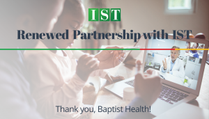 """<span class=""""entry-title-primary"""">Renewed Partnership with IST</span> <span class=""""entry-subtitle"""">Thank you Baptist Health in Jacksonville, FL!</span>"""