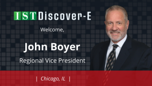"""<span class=""""entry-title-primary"""">Newest Employee with IST</span> <span class=""""entry-subtitle"""">Welcome John Boyer, New Regional Vice President for eDiscovery in Chicago!</span>"""
