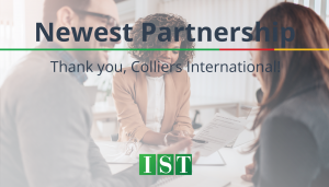 "<span class=""entry-title-primary"">Newest Partnership with IST</span> <span class=""entry-subtitle""> Thank you, Colliers International!</span>"