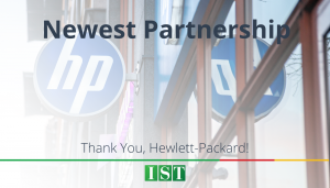 "<span class=""entry-title-primary"">Newest Partnership with IST</span> <span class=""entry-subtitle"">Thank You, The Hewlett-Packard Company!</span>"