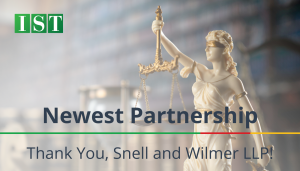 """<span class=""""entry-title-primary"""">Newest Partnership with IST</span> <span class=""""entry-subtitle"""">Thank you Snell & WilmerLLP!</span>"""
