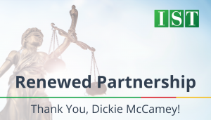"<span class=""entry-title-primary"">Renewed Partnership with IST</span> <span class=""entry-subtitle"">Thank you, Dickie McCamey</span>"