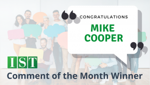 """<span class=""""entry-title-primary"""">Comment of the Month Winner</span> <span class=""""entry-subtitle"""">Congratulations Mike Cooper at Davies, McFarland & Carroll, LLC!</span>"""