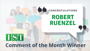 "<span class=""entry-title-primary"">Comment of the Month Winner</span> <span class=""entry-subtitle"">Congratulations to Robert Ruenzel at Benesch Friedlander Coplan & Aronoff!</span>"